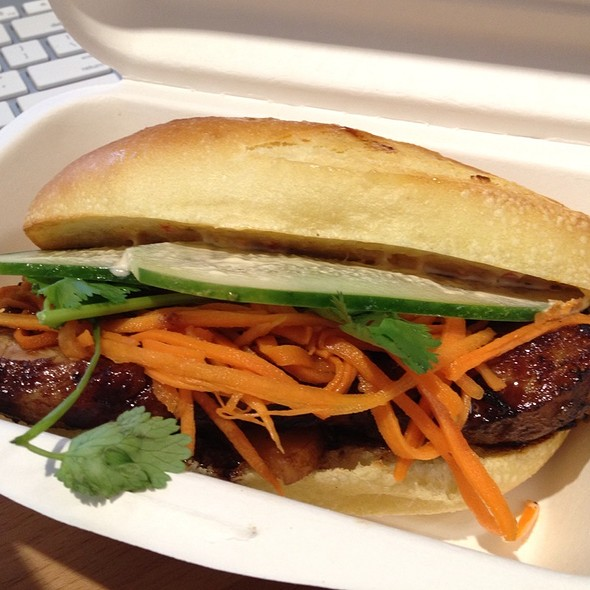 Glazed Pork Belly @ Num Pang Sandwich Shop