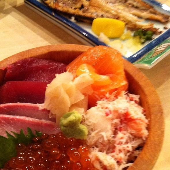 Seafood Bowl @ Izakaya Tairyo