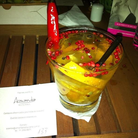 Caipirinha De Tangerina E Pimenta @ Armanda Restaurante