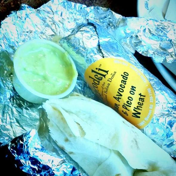 TacoDeli Breakfast Tacos  @ The Coffee Bean & Tea Leaf