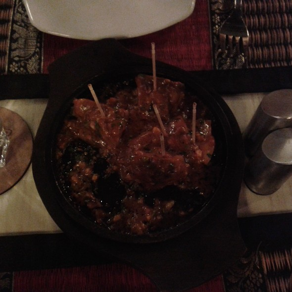 Mongolian Chicken Kabab @ The Bowl House