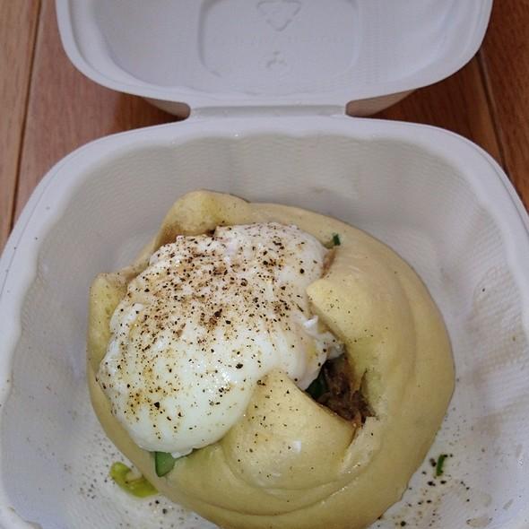 Pork Bun With An Egg @ Momofuku Milk Bar