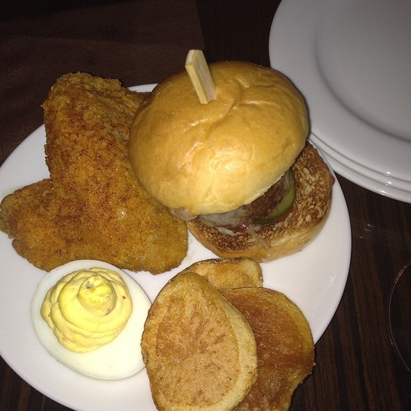 Sliders And Deviled Eggs - R Lounge at Two Times Square, New York, NY