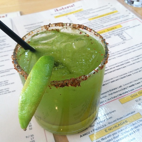 Jalapeno margarita @ Loteria Grill Hollywood