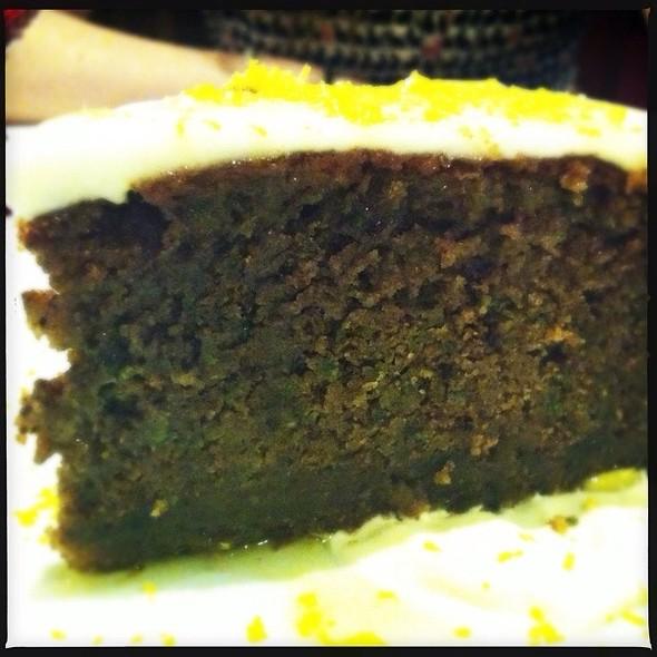 Torta Dolce Di Zucchine @ Restaurante Vito