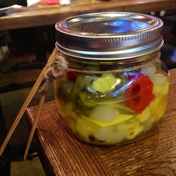 Pickled Vegetables @ CNN Grill @ SXSW (Max's Wine Dive)
