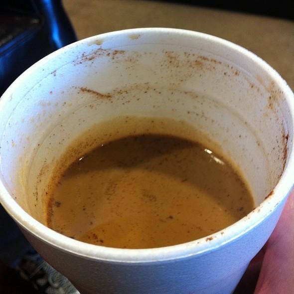 Hot Chai Tea Latte @ Crystal's Coffee & Tobacco Shop