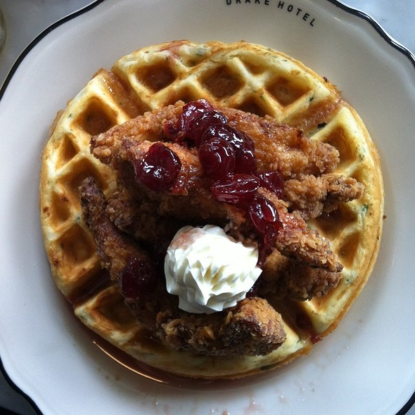 Chicken and Waffles @ Drake Café