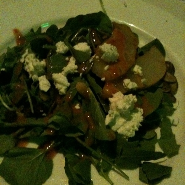 Poached Pear Salad @ Coach Insignia