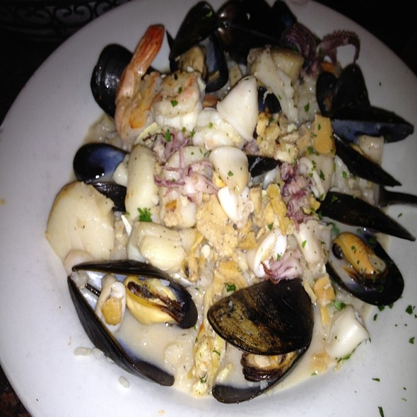 Seafood Risotto - Al Dente Restaurant, Boston, MA
