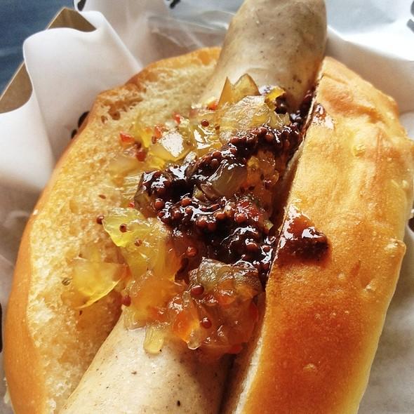 Mortabella Hot Dog @ Squarespace Food Truck