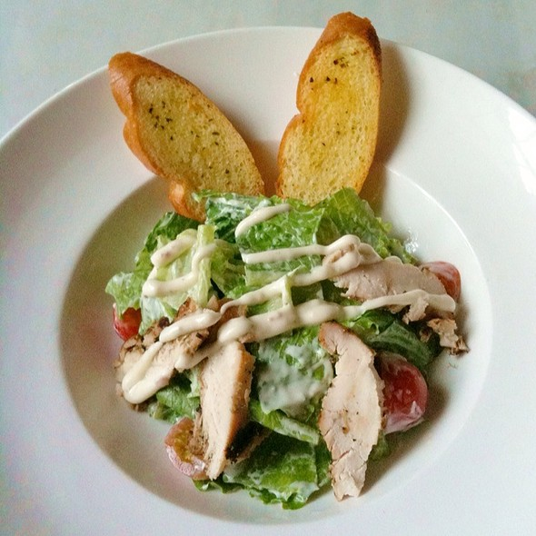 Chicken Caesar Salad @ Bibliotheque