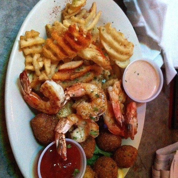 Shrimp Dinner @ Big Fish Seafood Grill & Bar