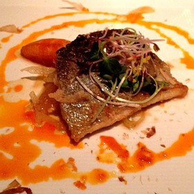 Honey Glazed Trout