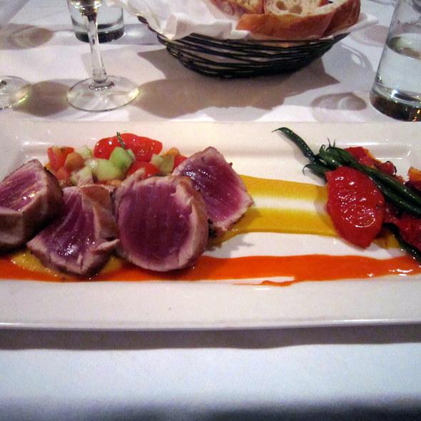 Seared Black Pepper Ahi Tuna - Persimmon, Bethesda, MD