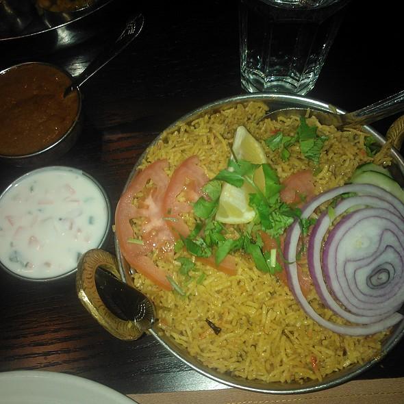 Lamb Biriyani @ Mayuri Indian Cuisine