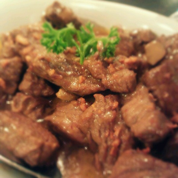 Beef Salpicao @ Packo's Restaurant and Bar