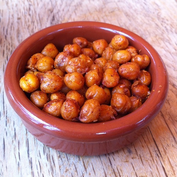 spicy fried chickpeas @ Nopalito