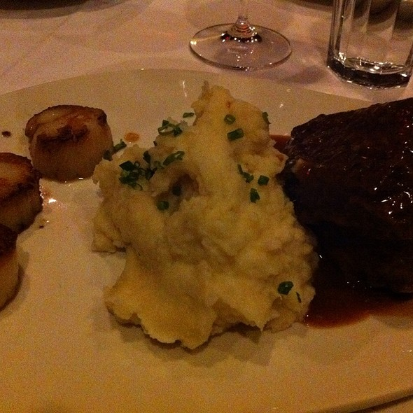 Braised Beef Short Ribs With Scallops - Morton's The Steakhouse - Naperville, Naperville, IL