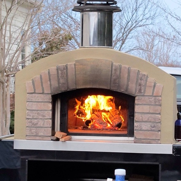 Wood Fired Pizza Oven @ Pizzeria Moto Mobile Wood Fired Catering
