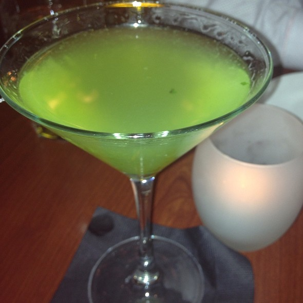 Cool As A Cucumber Martini - Tempo, Waltham, MA