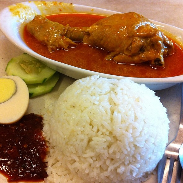 Nasi Lemak Ayam @ Hai Peng Kopitiam Kuantan