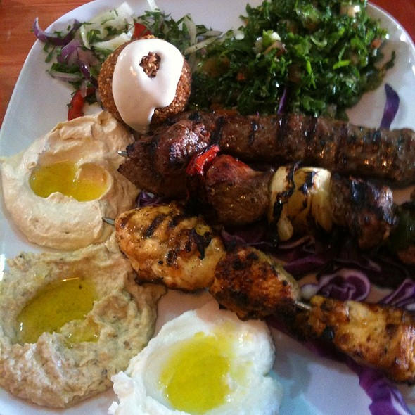Special Baba Plate @ Baba Ghannouj