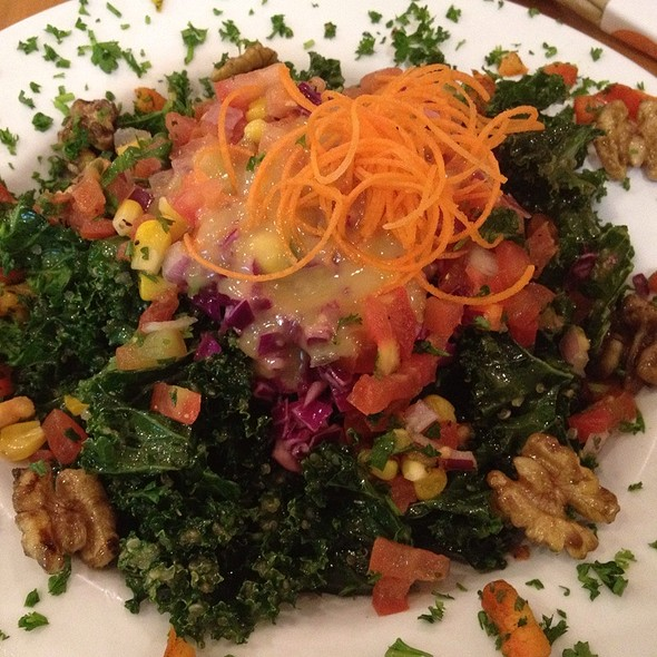All Hail Kale Salad @ The Veggie Grill