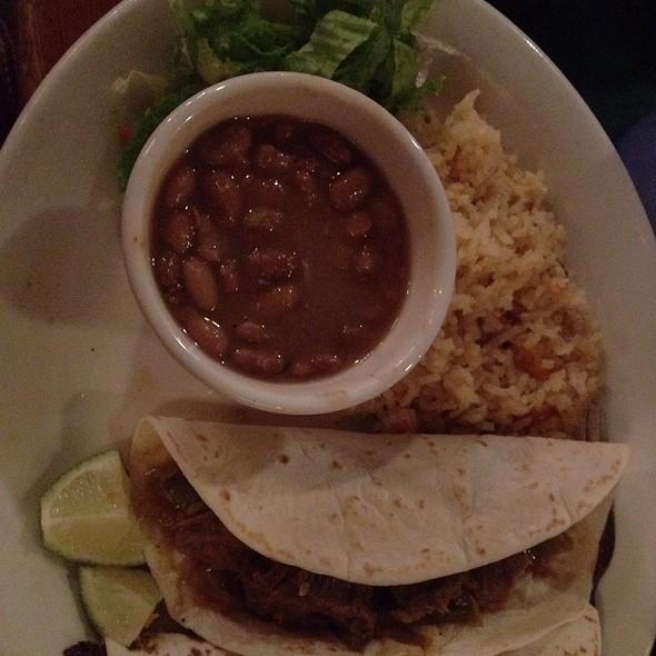 Taco Plate @ Guero's