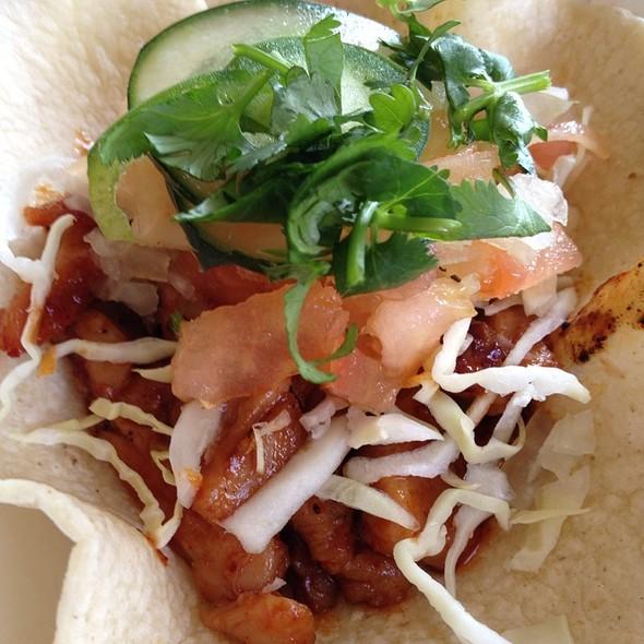 Bbq Chicken Korean Burrito at Kono Grill BBQ & Burger