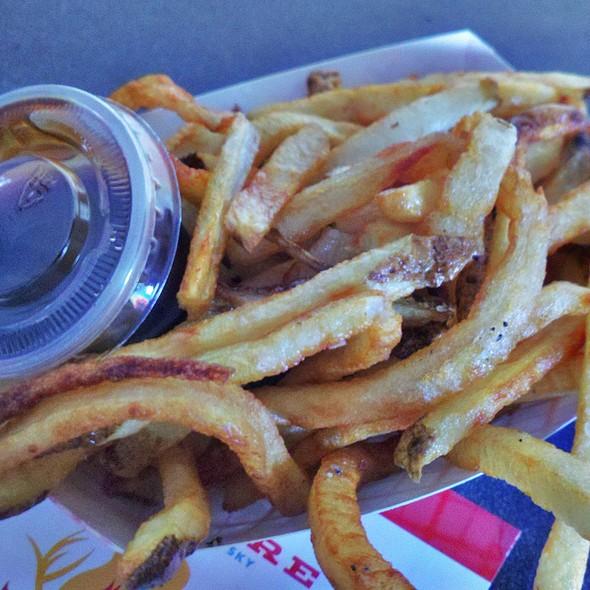 Hand Cut Fries @ Yume Burger