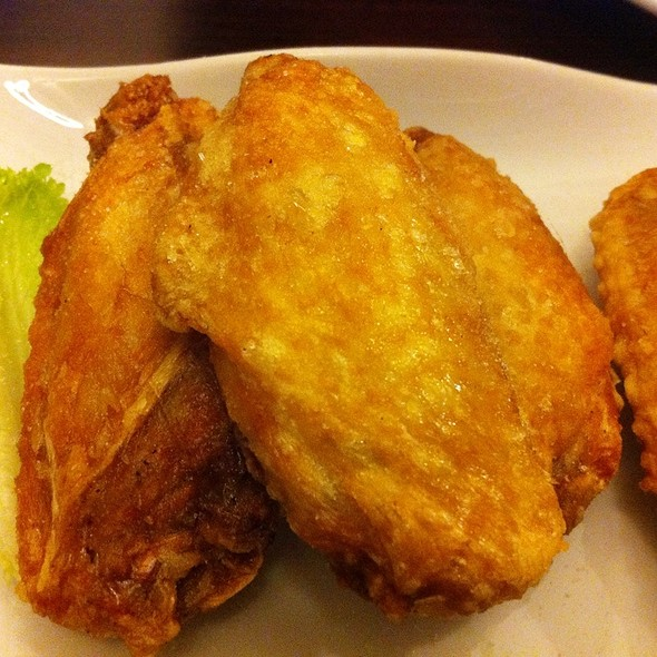 Deep Fried Chicken Wings @ City One Cafe
