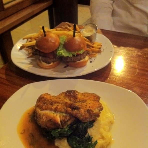Half Chicken & Ox Burgers - The Blue Ox, Lynn, MA