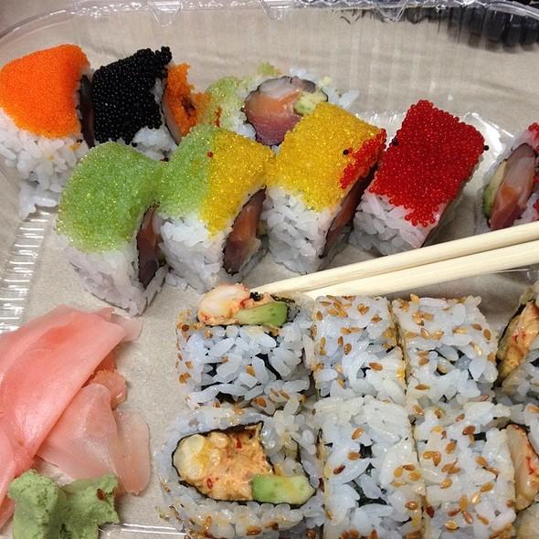 4 Season Roll And Crawfish Roll @ Derek Chang's Koto Sushi Bar