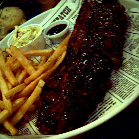 Dixie Style Baby Back Ribs @ Bubba Gump Shrimp Co.,