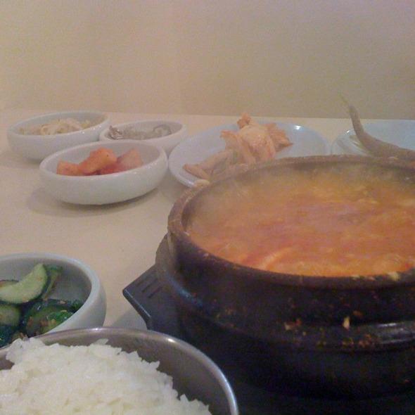Tofu Soup with Kimchi @ My Tofu House