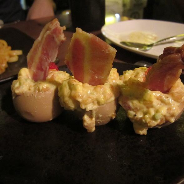 Atlantic Salmon and Egg Salad @ Don Don Izakaya