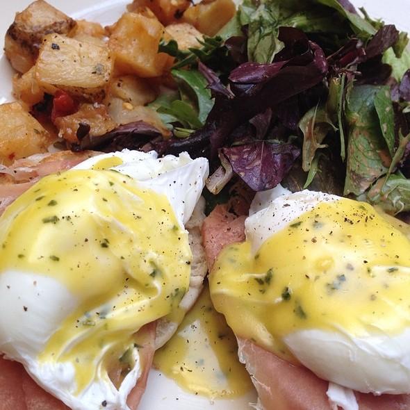 Eggs Benedict - Scottadito Osteria Toscana, Brooklyn, NY