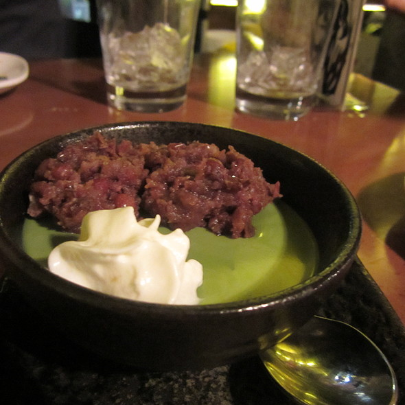 Green Tea Mousse @ Don Don Izakaya