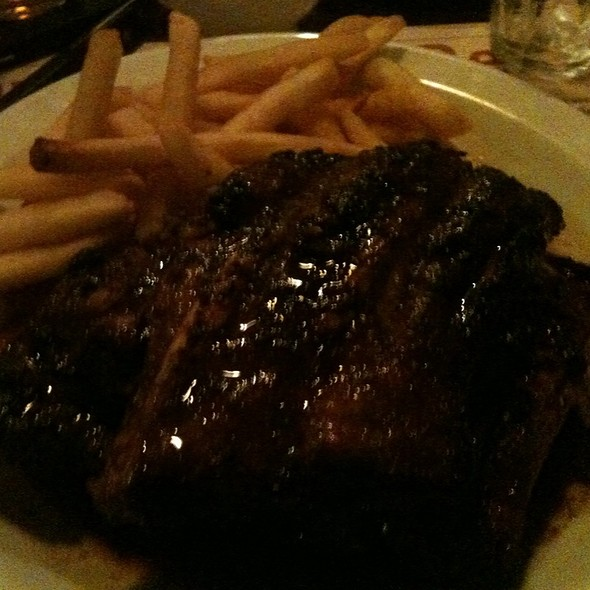 Spare  Ribs and  Fries @ Taveerne De Resident