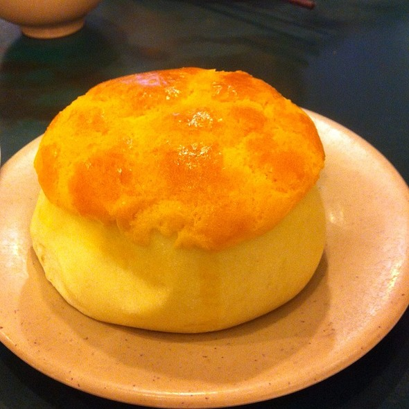 pineapple bun @ Lido Restaurant