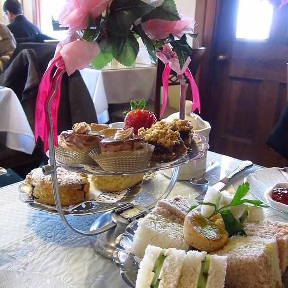 High Tea @ Tea Room at Robinson Bray House
