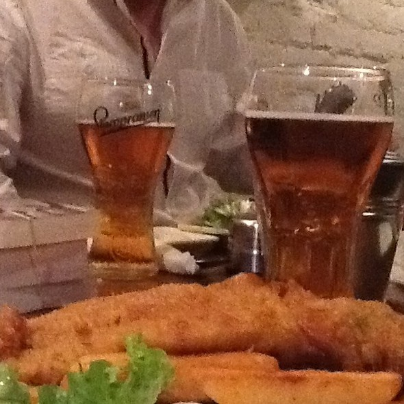Fish and Chips @ The Master Mariner