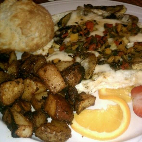 Egg White Fritatta  - Josephine's Modern American Bistro, Flagstaff, AZ