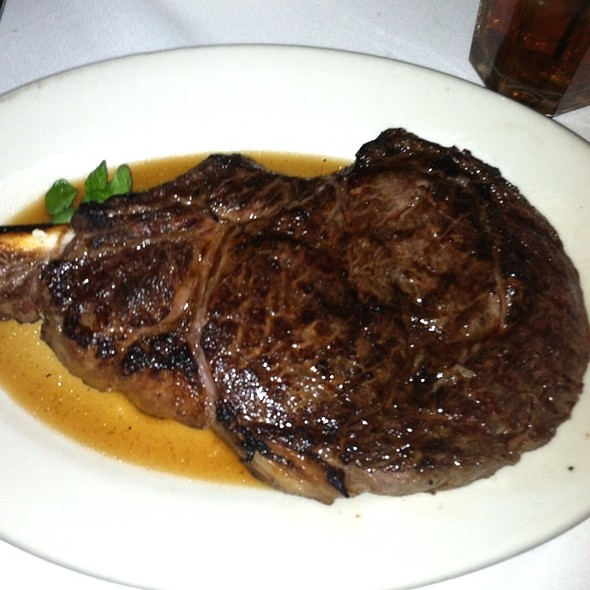 Chicago Style Bone In Ribeye - Morton's The Steakhouse - Beverly Hills, Los Angeles, CA