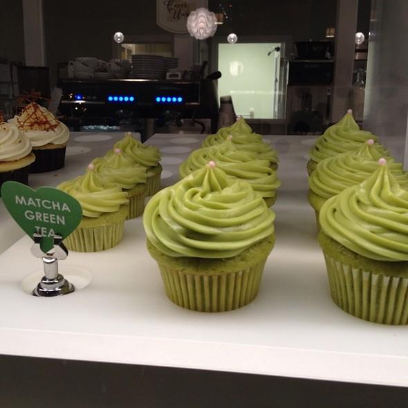 Matcha Green Tea Cupcake @ Cake Envy