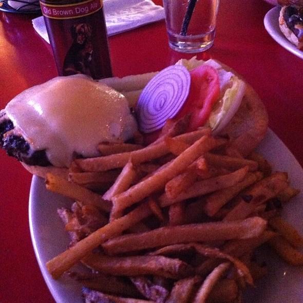Joe Kennedy Bootlegger Cheeseburger @ Joe Sent Me
