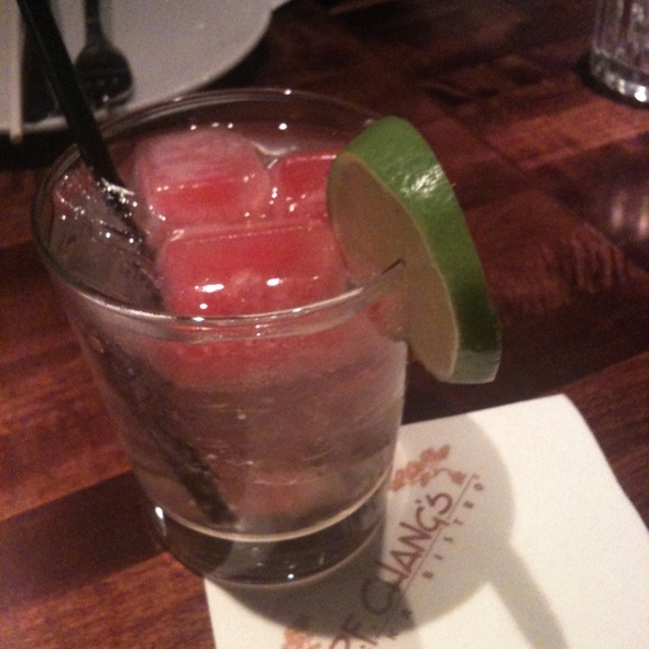 Icy Watermelon at P F Changs
