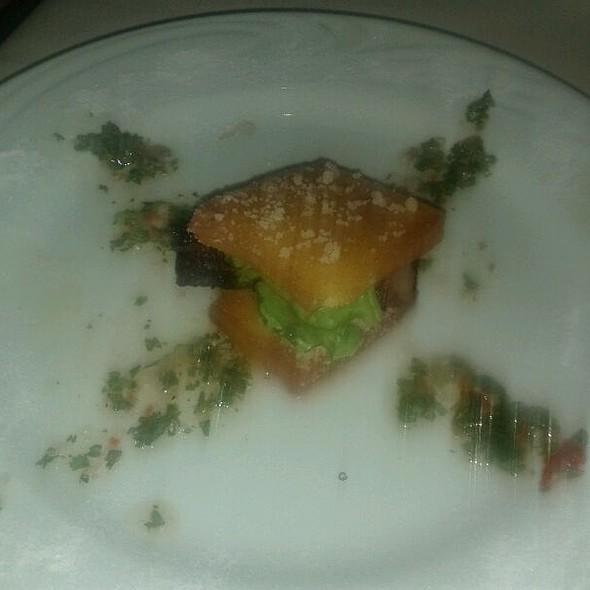 Polenta Sandwich Custom Creation By @diegoliath #sxsw @ Fogo De Chao Churrascaria