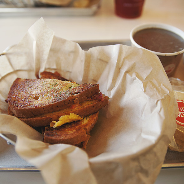 Gluten Free Grilled Cheese @ The Melt, Stanford Shopping Center